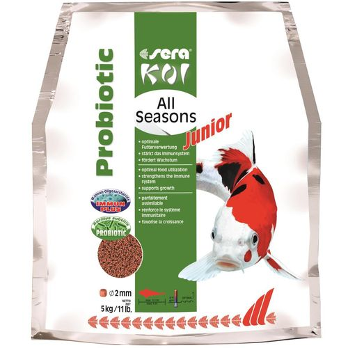 sera Koi Junior All Seasons Probiotic - 5 kg